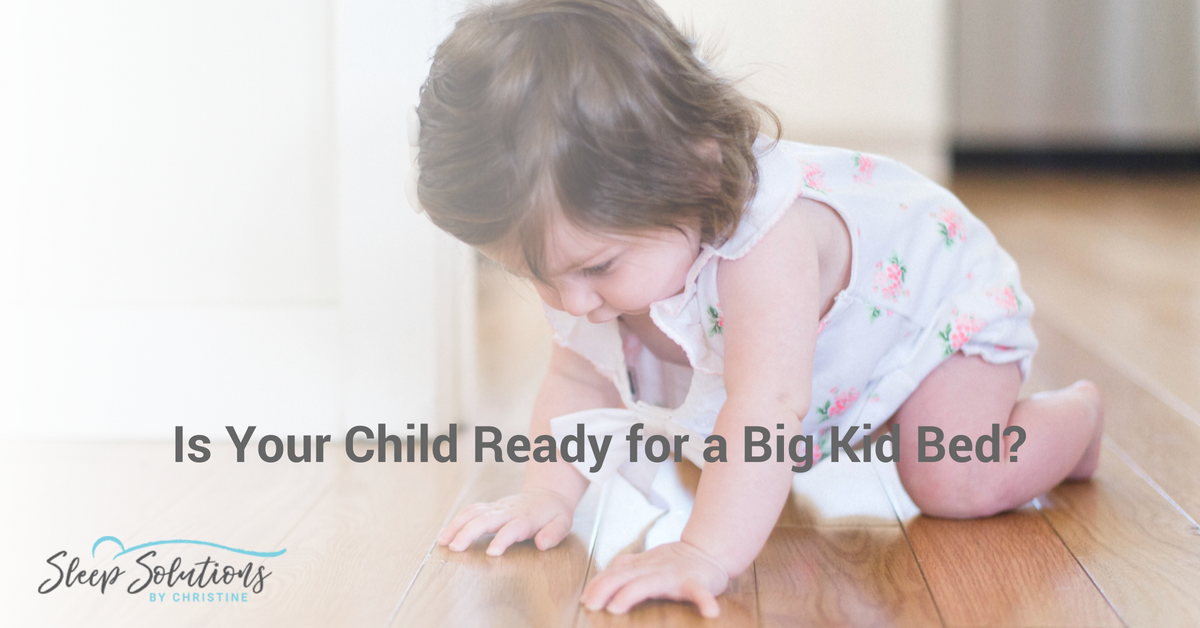 Is your baby ready to move to a big kid bed?